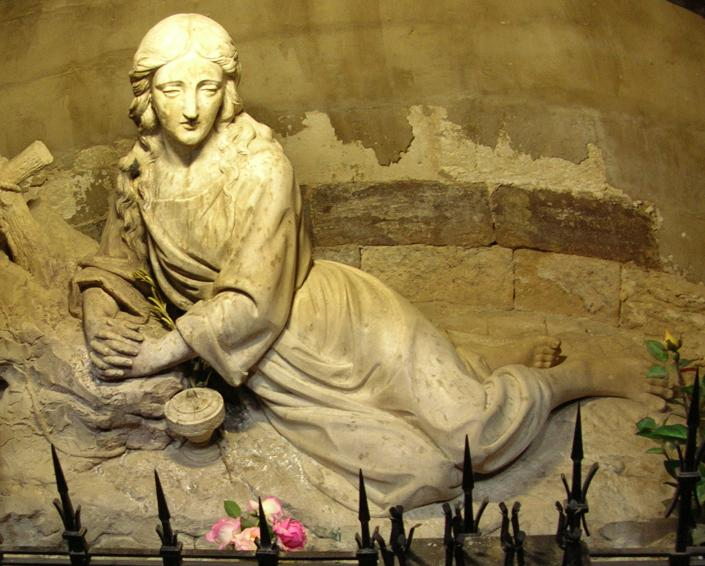 Sculpture of Mary Magdalene