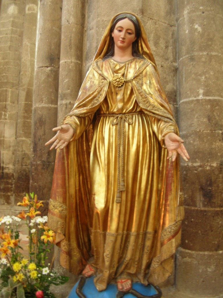 Statue of Mary Magdalene